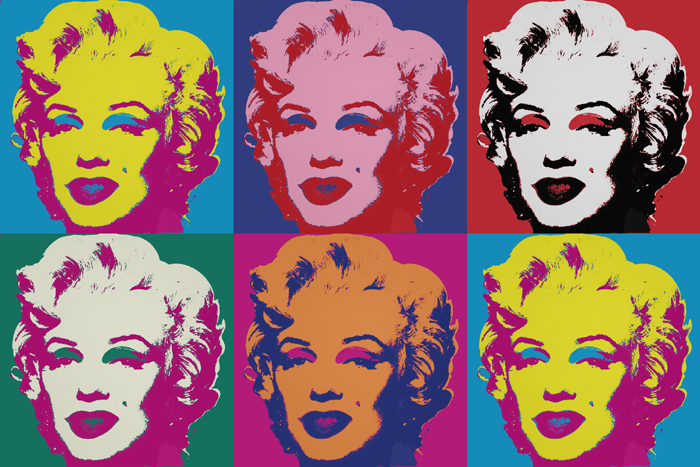 portrait style pop art andy warhol personnalise. Black Bedroom Furniture Sets. Home Design Ideas